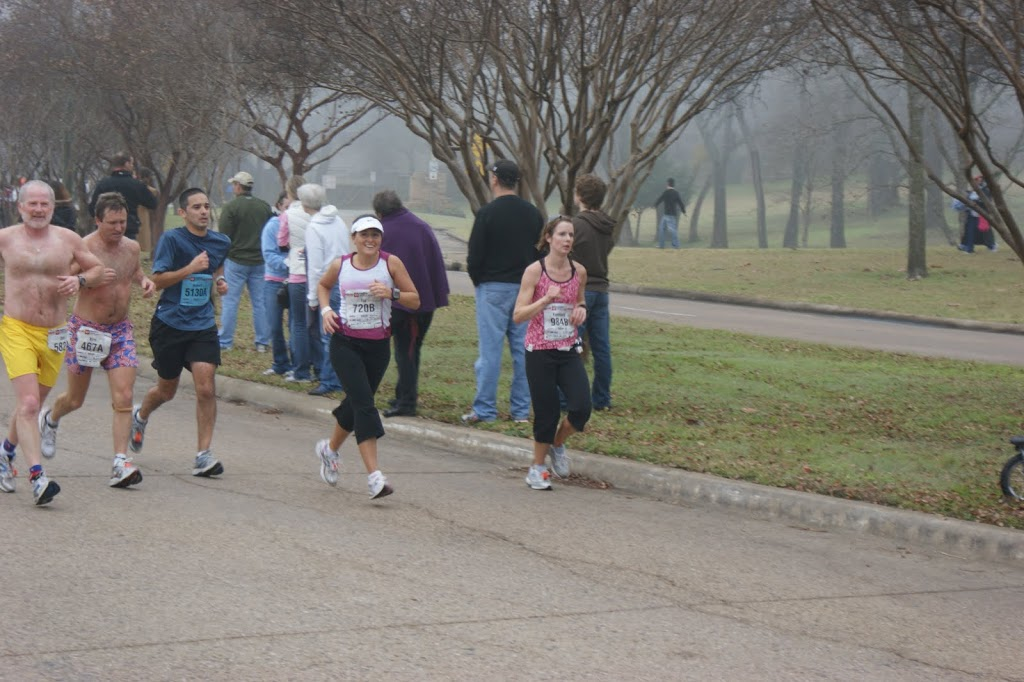 Dallas White Rock Marathon- 3:35:21