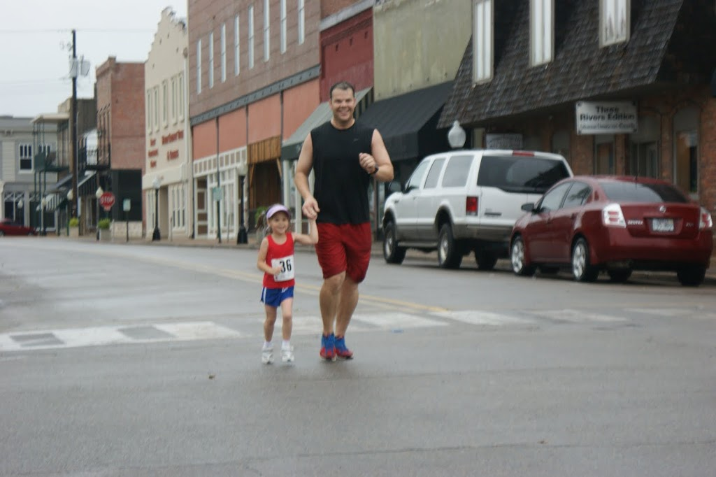 Her 1st 5K…