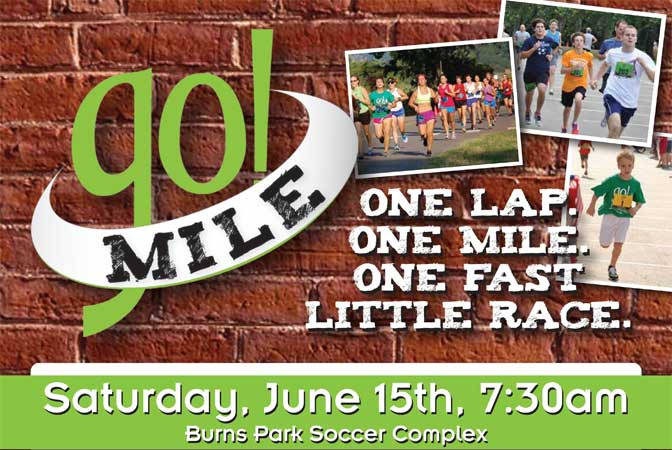 "go! Mile Race Report- ""One Lap, One Mile, One Fast Little Race!"""