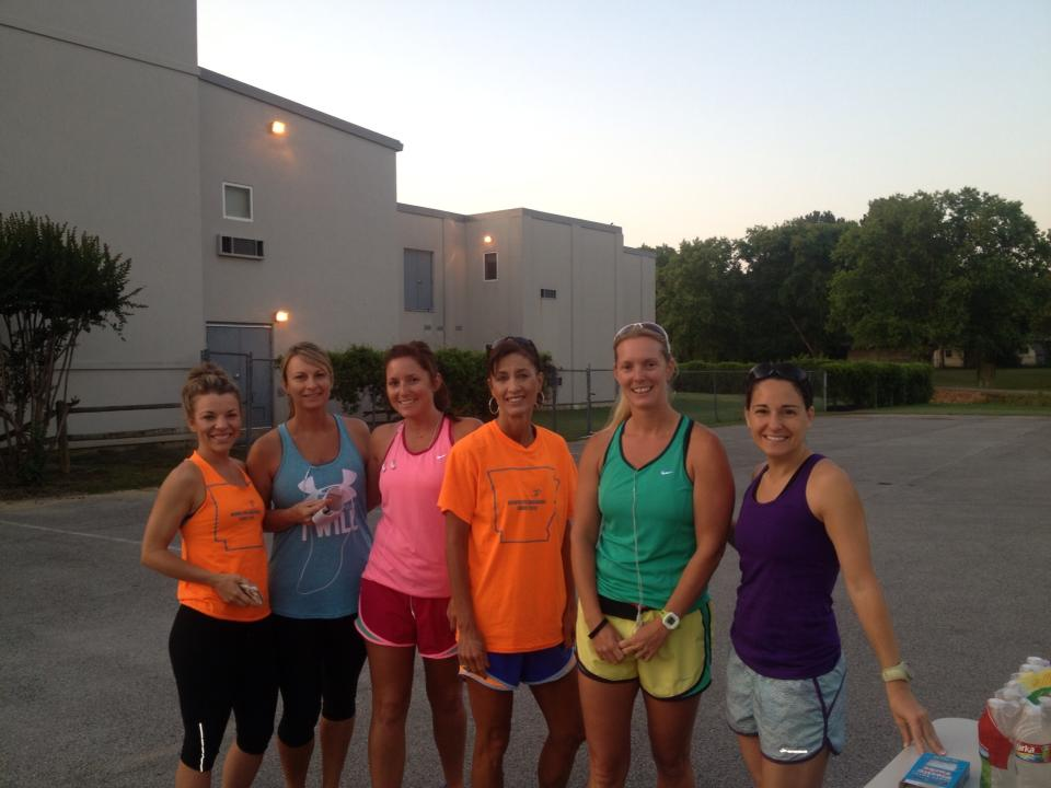 Caught in a storm and other training tales…