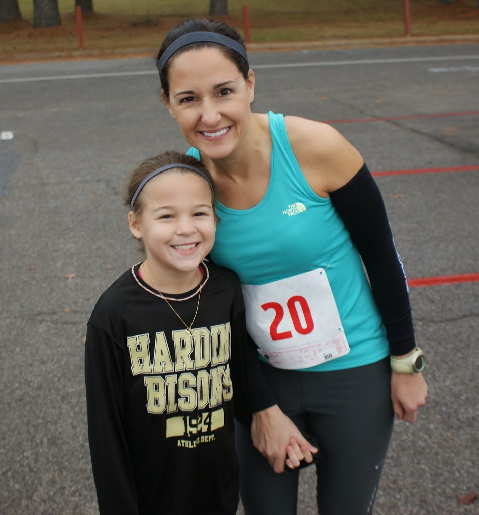 A New 10K PR- Running With My Mini Me…