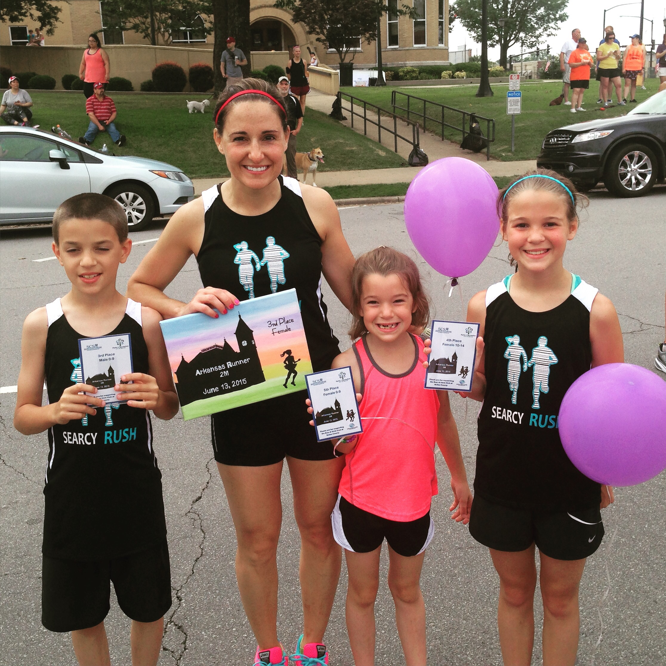 Arkansas Runner 2 Mile Race Report 2015